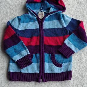 Old Navy 3T hooded zip sweater